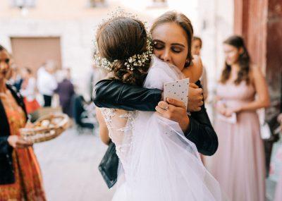 gratulácie po svadobnom obrade