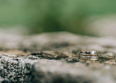 detail na svadobnú obrúčku