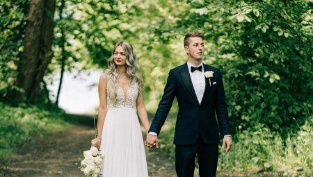 záber zo svadobného videa